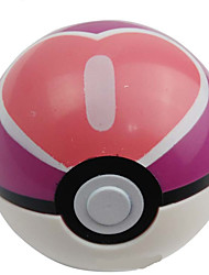 Pocket Little Monster Plastic Heart Poke Ball 1 pcs