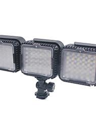 3pcs * hy-lux360 portable lumière 36 vidéo dirigée pour la caméra