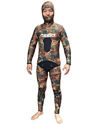 Others Men's Diving Suits Diving Suit Compression Wetsuits 2.5 to 2.9 mm Camouflage S / M / XL / XXL Diving