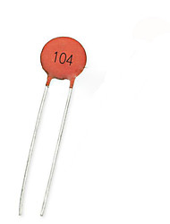 Low Voltage Ceramic Capacitors 50V104Z Orange Nonpolarized Capacitor 100NF 0.1UF 50V Y5V 20%