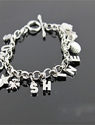 Chain Bracelets 1pc,Silver Bracelet Fashionable Circle Stainless Steel Jewellery