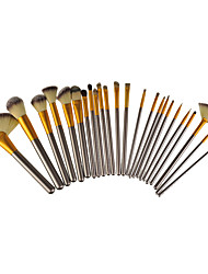 24 Meter White Cosmetic Brush Set