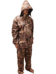 Windproof Reed Bionic Camouflage pattern Duck Shooting Game Clothes Suits
