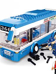 Конструкторы Для получения подарка Конструкторы Модели и конструкторы автобус / / Пластик Выше 3 Коричневый Игрушки