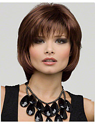 Fashion Natural Short Brown Bobo Wigs 100% Kanekalon Wig