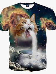 Inspiriert von Cosplay Cosplay Anime Cosplay Kostüme Cosplay-T-Shirt Druck Kurzarm T-shirt Für Mann Frau
