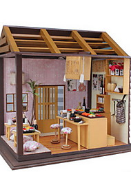 Creative Diy Cottage Japanese Style Sakura Flower Sushi Shop