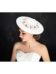 Women's Lace Flax Headpiece-Special Occasion Fascinators 1 Piece