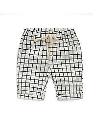 Children Plaid Pants New Children'S Clothing Boys Fifth Pants Tide Products