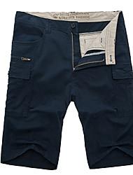 Men's Shorts,Casual Print Cotton