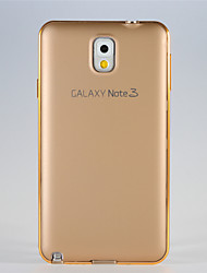 Para Samsung Galaxy Note Antigolpes Funda Cubierta Trasera Funda Un Color Metal Samsung Note 3