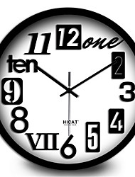 Simple Digital Living Room Bedroom Home Decoration Quiet Wall Clock