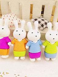 The New Meters Korea Creative Cartoon Bunny Rabbit Child Student Eraser