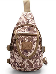 8 L Sacs bandoulière et Sacs de messager Camping & Randonnée Extérieur Etanche / Multifonctionnel Camouflage Nylon 630D