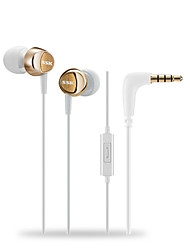 SSK EP-AM13 In-Ear Earbuds Earphones with Stereo Sound Noise-isolating Mic Control for Smartphone