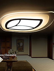 Leaf Shape LED Acrylic Light Stepless Dimmable Acrylic LED Ceiling Lights + Remote Control AC220-240V