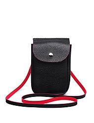 Feminino Couro Ecológico Casual Telefone Móvel Bag