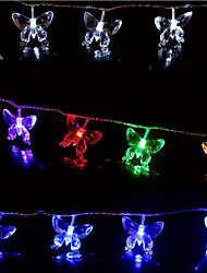 Leuchtgirlanden lm AC220 V 10 m 100 Leds RGB