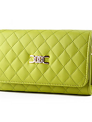 Women Cowhide Formal / Office & Career Shoulder Bag Multi-color