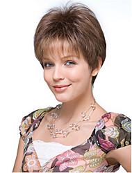 коричневый цвет косплей парики из жаропрочного синтетического оптовой короткий фигурные парик партии Cosplay