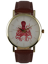 Simple Martial Digital Phase Paper Octopus Fashion Watch