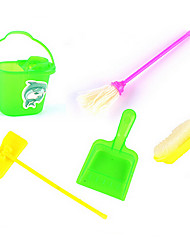 Children Simulation Cleaning Kit Props Broom Clean Trash Mop Series 5 Accessories