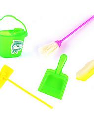 Kinder Simulation Reinigungs-Kit Requisiten sauber Besen Müll Mopp Serie 5 Zubehör