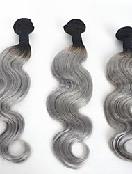 3 Pieces Body Wave Human Hair Weaves Brazilian Texture Human Hair Weaves Body Wave