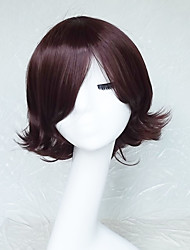Cosplay Wig Colour Brown Cartoon Characters Become Warped Wig 10 Inch