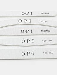 chiodo chiodo strisce smalto riparare il file su entrambi i lati lotta macchia smeriglio