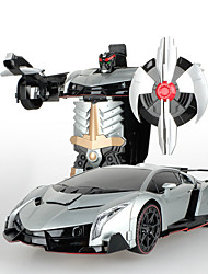 Toys For Boys Robot MeiZhi 20213 Intelligent Red / Gray Radio Control