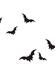 aw9463 Halloween Cartoon Wall Stickers Decorative Wall Stickers,VINYL    Removable Home Decoration BATS Wall Decal