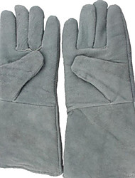 14-Inch Floor Insulation Leather Welding Safety Gloves
