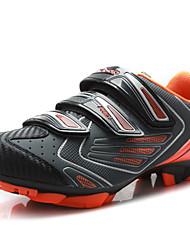 Для велоспорта Зеленый / Оранжевый Обувь Мужской Материал на заказ клиента