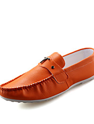 Men's Shoes PU Office & Career / Casual Flats / Clogs & Mules Office & Career / Casual Walking Flat Heel Others /