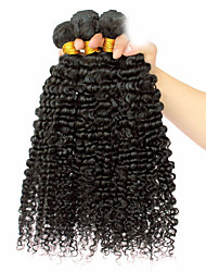 """10""""-26"""" 6A Grade Mongolian Kinky Curly Virgin Hair 3B 3C Texture Afro Kinky Curly Hair Extensions"""