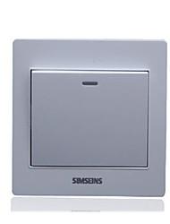 matériel de prise interrupteur électrique série r8 de tableau blanc