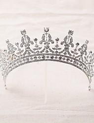 Women's Rhinestone / Alloy Headpiece-Wedding Tiaras / Headbands 1 Piece