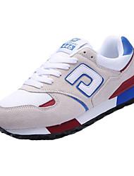 Herren-Sneaker-Lässig-Tüll-Flacher Absatz-Komfort-Blau Lila Beige