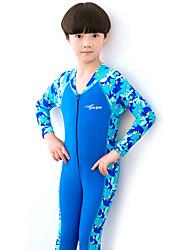 Boy's Polyester Swimwear,Summer Patchwork