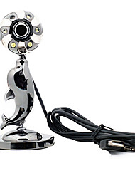 USB 2.0 HD Webcam 10M CMOS 1024x768 30FPS with Mic