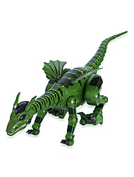 RC Toys Remote Control Fire-Breathing Dragon Animal Model Glow Dinosaur Children Electric Toy