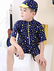 Boy Nylon Swimwear,Summer ¾ Sleeve