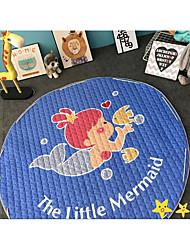 stockage ronde coton enfants pad jouet pour bébé jeu pad pad d'escalade
