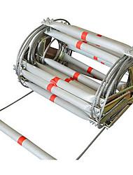 10m выхода волокна безопасности троса лестницы мягкая конструкция защиты от падения спасательных лестниц лестницы