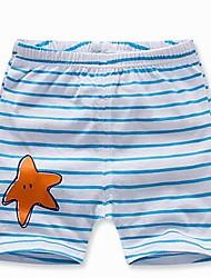 Baby Hose-Lässig/Alltäglich Druck Baumwolle Sommer Blau / Orange / Rot