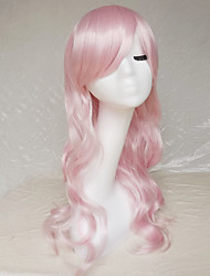 Cosplay Wig Colour Pink Diffuse Character Wig 26 Inch Long