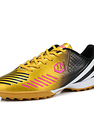 Adult / Kids Shoes Synthetic Athletic Shoes Soccer Training Shoes Black / Blue / Green / Pink / Gold