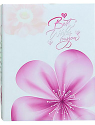 6 inch 100 PCS flower photo album