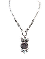 Fashion Owl Necklace Fine Jewelry